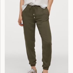 H&M olive green joggers
